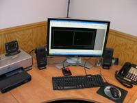 CAD Computer Station